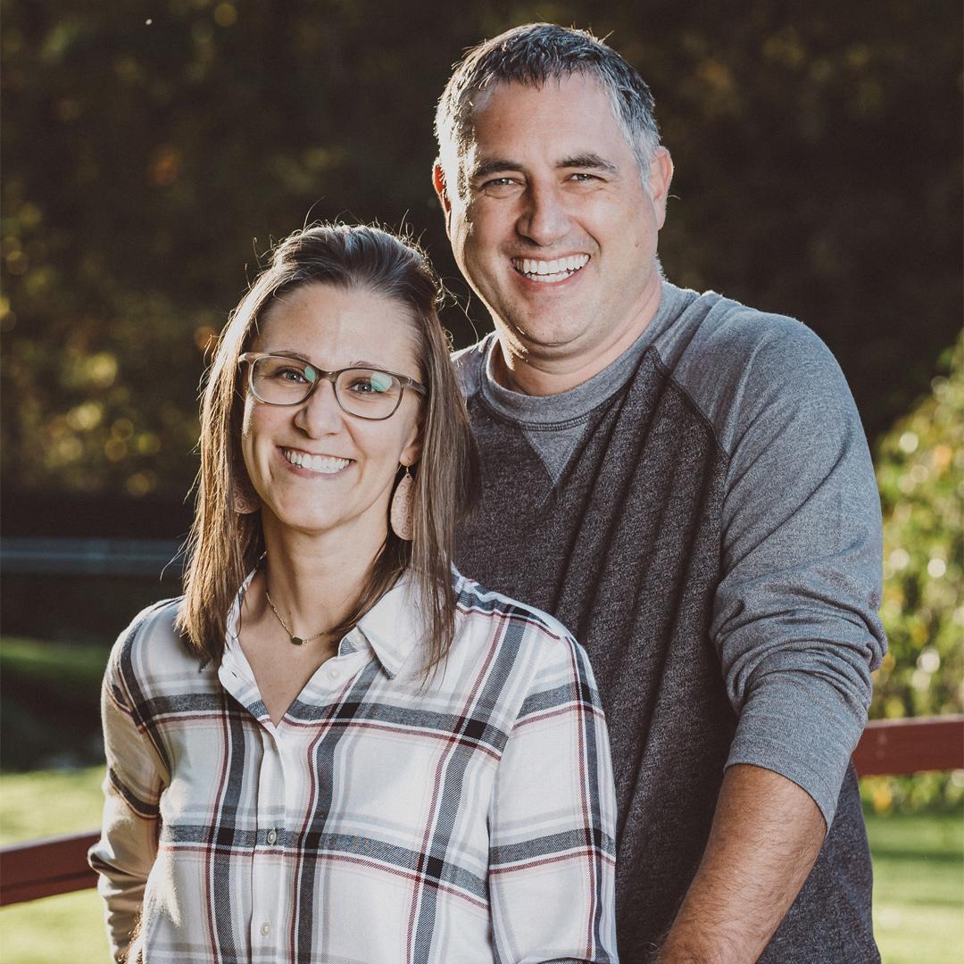 West Ridge Church Lead Pastor John Goebbel and his wife Jennifer Goebbel