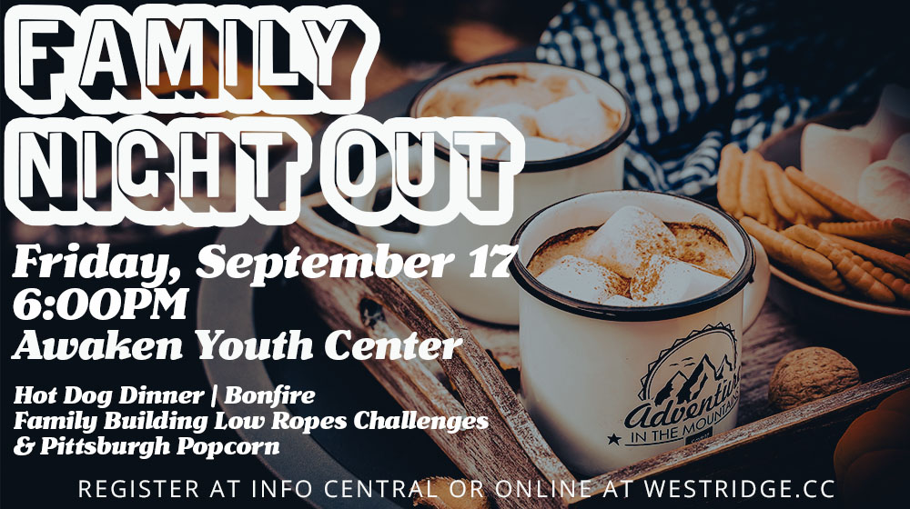 Family Night Out: a West Ridge Church event