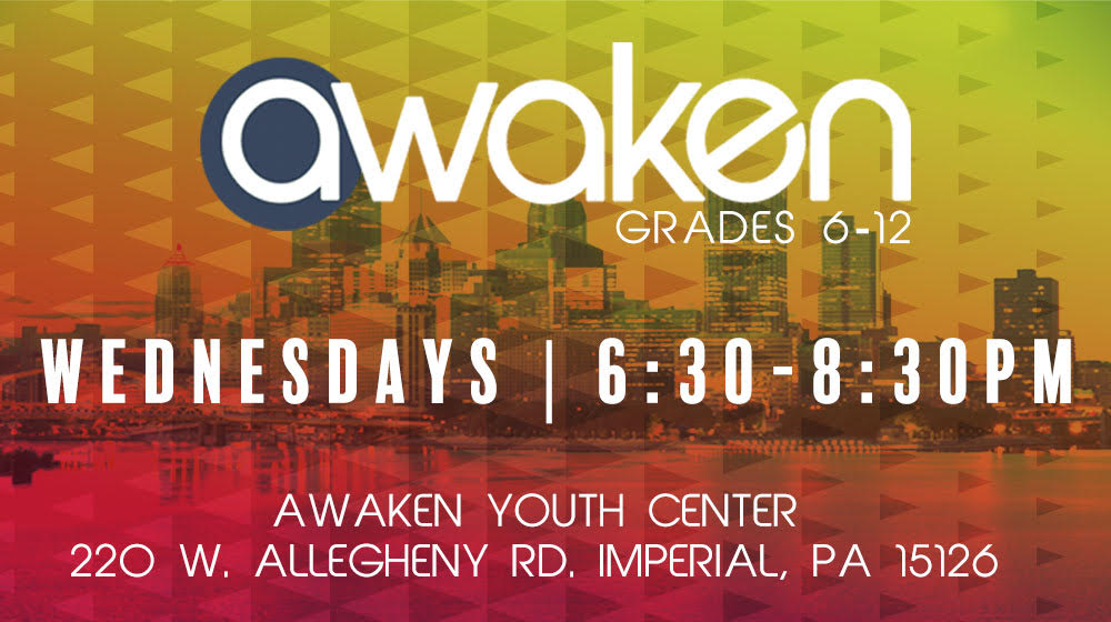 Awaken Student Service: a weekly student ministry event of West Ridge Church